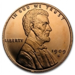 1 Unze Copper Round Lincoln Wheat Cent 999,99 AVDP