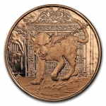 1 oz Copper Round - Nordic Creatures: Garm