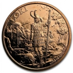 1 oz Copper Round - Norse Gods Loki God of Mischief (Anonymous Mint) .999 AVDP