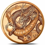 The Chinese 1 oz Copper  Round | World of Dragons