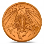 The Norse 1 oz Copper  Round | World of Dragons
