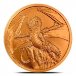The Welsh 1 oz Copper  Round | World of Dragons