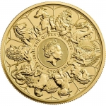 2021 Great Britain 1 oz Gold Queens Beasts Collection -...