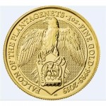 1 Unze Gold Queens Beast Falcon of the Plantagenets...