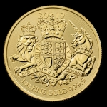 1 Unze Gold The Royal Arms  Grossbritannien 2019 BU