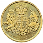 1 Unze Gold The Royal Arms  Grossbritannien 2020 BU