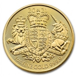 2021 Great Britain 1 oz Gold The Royal Arms BU