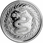 1 oz Samoa Samoa Serpent of Milan Silver Coin (2020)