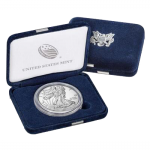 1 Unze Silber American Eagle 2020 USA Proof West Point