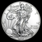 1 oz Silver American Eagle USA 2020