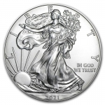 1 oz Silver American Eagle USA 2021