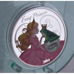 1 Unze Silver The Frog Prince coloured 2014 Proof