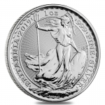 1 oz Silver Britannia England United Kingdom 2019