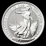 1 oz Silver Britannia England United Kingdom 2020