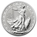 1 oz Silver Britannia England United Kingdom 2020...