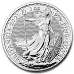 1 oz Silver Britannia England United Kingdom 2021