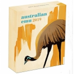 1 oz Silver Australian Emu 2019 Proof in Box