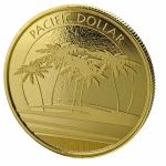 1 Unze Gold Fiji Pacific Dollar 2018 BU