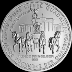 1 Unze Silber Germania Quadriga 2018  999,99