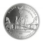1 Oz Silver Germania Quadriga 2021 60 Years Fall of Berlin Wall 999,99
