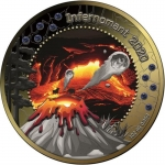 2020 Republic of Ghana 1 oz Silver INFERNOMANT Treasures...