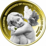 2020 Republic of Ghana 1 oz Silver MESSENGERS OF HEAVEN...