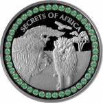 2020 Republic of Ghana 1 oz Silver SECRETS OF AFRICA II...