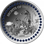 2020 Republic of Ghana 1 oz Silver SECRETS OF THE OCEAN...