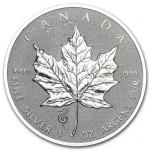 1 oz Silver Canadian Maple Leaf 2013 - Snake Privy