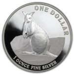 1 Unze Silber Kangaroo 2012 Australien Proof in Box