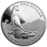 1 Unze Silber Kangaroo 2013 Australien Proof in Box