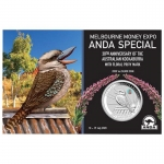 2020 $1 Coin Show Special ANDA  Kookaburra Pink Common...
