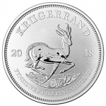 1 oz Silver South African Krugerrand 2018