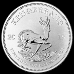 1 oz Silver South African Krugerrand 2019