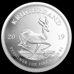 2019 South Africa 1 oz Silver Krugerrand Proof