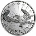 1 oz Silver Round - Liberty Eagle .999