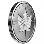 1 Unze Silber Maple Leaf Double Incuse 2019 Kanada Incuse