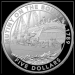 2019 $5 Mutiny on the Bounty 1oz  Silver Proof