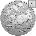 2019 1 oz Silver Mob of Ross Australia RAM Chicago coin...