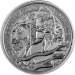 1 oz Silver Myths and Legends (1.) - Robin Hood England United Kingdom 2021