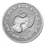 2021 Niue 1 oz Silver $2 Celestial Animals The Black Turtle