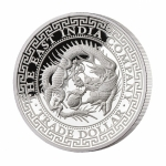 2019  Niue 1 oz Silver Japan Trade Dollar Restrike Proof