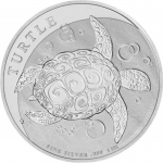 1 oz Silver New Zealand Mint $2 Niue Taku .999 Fine 2021