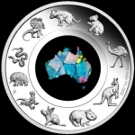 2020 $1 Opal Great Southern Land 1oz Silver Proof