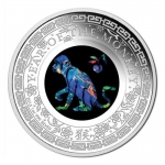 2016 $1 Opal Year of the Monkey 1oz Silver Proof