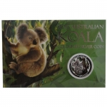 2014 $1 Koala Colour 1oz Silver BU