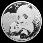 1 Kilo Silber Panda 2019 China Kilo Proof