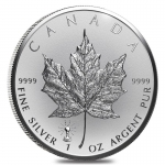 2018 Canada 1 oz Silver Maple Leaf Light Bulb Edison...