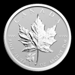 2017 Canada 1 oz Silver Maple Leaf Mooses Privy Reverse Proof
