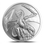 1 Unze Silber Silver Round The Welsh World of Dragons  999,99